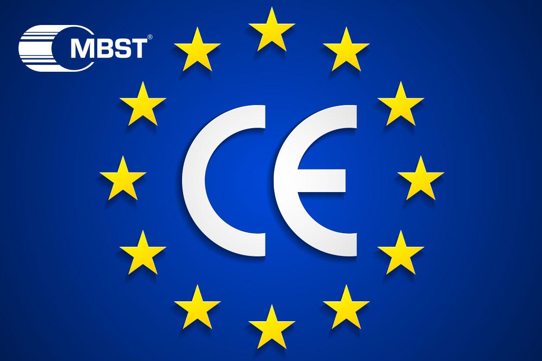 MBST CE AB'yi işaretler