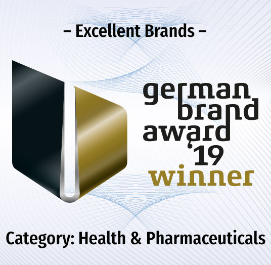 Logo 'Winner' des German Brand Award 2019